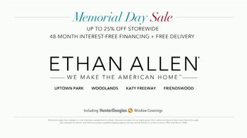 Ethan Allen Memorial Day Sale TV Spot, 'Up to 25 Percent off and Free Delivery' - Thumbnail 5