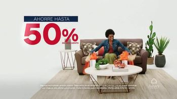 Ashley HomeStore Venta de Memorial Day TV Spot, 'Compre ahora' [Spanish] - Thumbnail 2