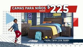 Rooms to Go Kids Venta de Memorial Day TV Spot, 'Tiempo de ahorrar' [Spanish] - Thumbnail 3