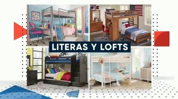 Rooms to Go Kids Venta de Memorial Day TV Spot, 'Tiempo de ahorrar' [Spanish] - Thumbnail 4