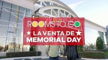 Rooms to Go Venta de Memorial Day TV Spot, 'Compre con seguridad' [Spanish] - Thumbnail 2