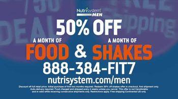 Nutrisystem for Men 50/50 Deal TV Spot, 'Stuck at Home' - Thumbnail 10