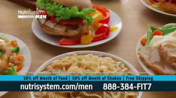 Nutrisystem for Men 50/50 Deal TV Spot, 'Stuck at Home'