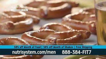 Nutrisystem for Men 50/50 Deal TV Spot, 'Stuck at Home' - Thumbnail 8