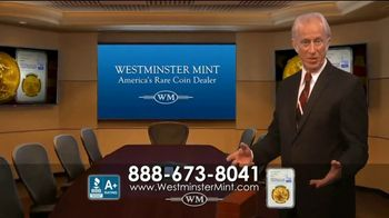 Westminster Mint TV Spot, 'Early Release 2020 American $50 Gold Eagle' - Thumbnail 1
