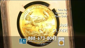 Westminster Mint TV Spot, 'Early Release 2020 American $50 Gold Eagle' - Thumbnail 7