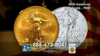 Westminster Mint TV Spot, 'Early Release 2020 American $50 Gold Eagle' - Thumbnail 8
