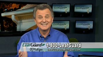 LeafGuard of Michigan TV Spot, 'Eliminate Health Hazards: 65 Percent Off Labor' - Thumbnail 9