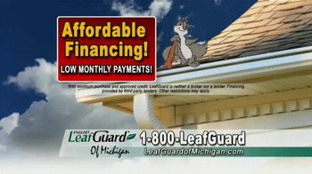 LeafGuard of Michigan TV Spot, 'Eliminate Health Hazards: 65 Percent Off Labor' - Thumbnail 6