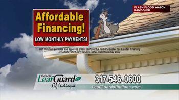 LeafGuard of Indiana TV Spot, 'Big Rain: 65 Percent Off Labor' - Thumbnail 7