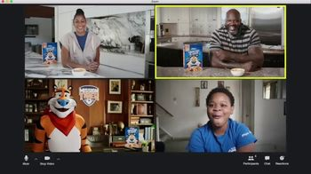 Frosted Flakes TV Spot, 'Mission Tiger: School Surprise' Featuring Shaquille O'Neil, Candace Parker