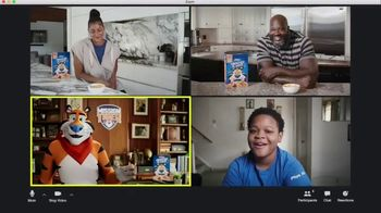 Frosted Flakes TV Spot, 'Mission Tiger: School Surprise' Featuring Shaquille O'Neil, Candace Parker - 3723 commercial airings