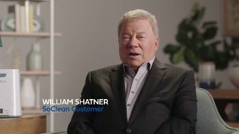 SoClean TV Spot, 'Daily Cleaning: $70 Rebate' Featuring William Shatner - 147 commercial airings