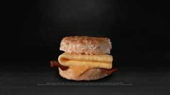 Hardee's Bacon, Egg and Cheese Biscuit TV Spot, 'Happy Meaty Meditations' - Thumbnail 6