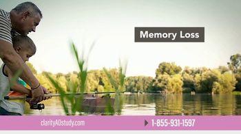 Eisai TV Spot, 'The Clarity AD Study: Memory Loss' - Thumbnail 3