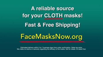 Face Masks Now TV Spot, 'Quality Cloth Masks' - Thumbnail 9