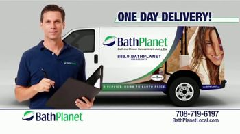 Bath Planet TV Spot, 'Tired of Looking at Your Moldy Shower' - Thumbnail 9