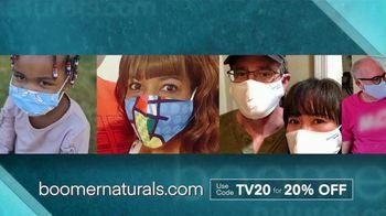 Boomer Naturals Face Masks TV Spot, 'Highly Protective Covering' - Thumbnail 1