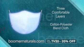Boomer Naturals Face Masks TV Spot, 'Highly Protective Covering' - Thumbnail 5