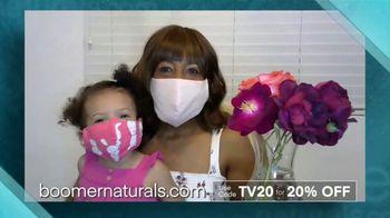 Boomer Naturals Face Masks TV Spot, 'Highly Protective Covering' - Thumbnail 7
