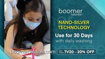 Boomer Naturals Face Masks TV Spot, 'Highly Protective Covering' - Thumbnail 8