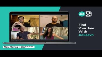 JioSaavn TV Spot, 'Stay Home With JioSaavn' Song by SIRI & Sez - Thumbnail 2
