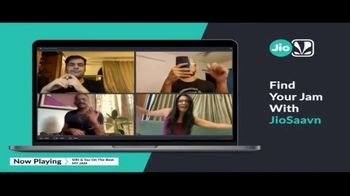 JioSaavn TV Spot, 'Stay Home With JioSaavn' Song by SIRI & Sez - Thumbnail 4