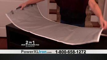 Power XL Cordless Iron & Steamer TV Spot, 'Wrinkled' - Thumbnail 8