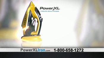Power XL Cordless Iron & Steamer TV Spot, 'Wrinkled' - Thumbnail 7