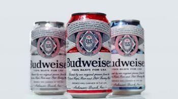 Budweiser Summer Patriotic Cans TV Spot, 'Memorial Day: Taste of Freedom' - Thumbnail 1