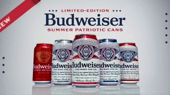 Budweiser Summer Patriotic Cans TV Spot, 'Memorial Day: Taste of Freedom'