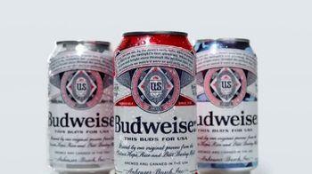 Budweiser Summer Patriotic Cans TV Spot, 'Memorial Day: Taste of Freedom' - Thumbnail 2