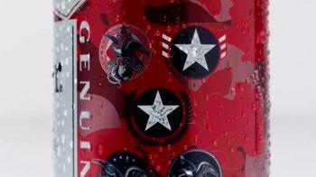 Budweiser Summer Patriotic Cans TV Spot, 'Memorial Day: Taste of Freedom' - Thumbnail 4