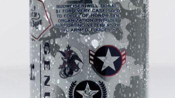 Budweiser Summer Patriotic Cans TV Spot, 'Memorial Day: Taste of Freedom' - Thumbnail 5