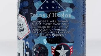 Budweiser Summer Patriotic Cans TV Spot, 'Memorial Day: Taste of Freedom' - Thumbnail 6