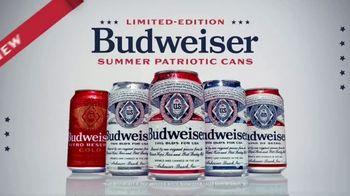 Budweiser Summer Patriotic Cans TV Spot, 'Memorial Day: Taste of Freedom'