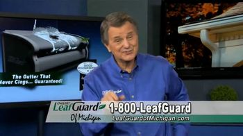 LeafGuard of Michigan TV Spot, 'Big Mouth: 65% Off Labor, Financing and a $100 Gift Card'