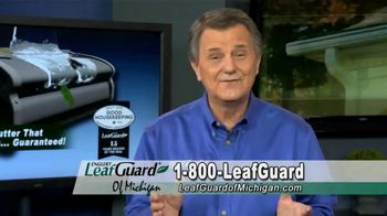 LeafGuard of Michigan TV Spot, 'Big Mouth: 65 Percent Off Labor, Financing and a $100 Gift Card' - Thumbnail 7