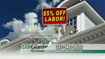 LeafGuard of Indiana TV Spot, 'No Matter the Weather: 65 Percent Off Labor' - Thumbnail 5