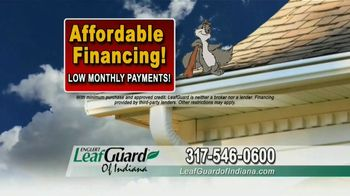 LeafGuard of Indiana TV Spot, 'No Matter the Weather: 65 Percent Off Labor' - Thumbnail 6