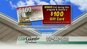LeafGuard of Indiana TV Spot, 'No Matter the Weather: 65 Percent Off Labor' - Thumbnail 7