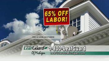 LeafGuard of Michigan TV Spot, 'Don't Risk a Fall: 65 Percent Off Labor' - Thumbnail 6