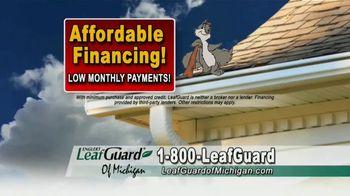 LeafGuard of Michigan TV Spot, 'Don't Risk a Fall: 65 Percent Off Labor' - Thumbnail 7