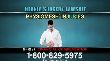 Knightline Legal TV Spot, 'Hernia Surgery Complication' - Thumbnail 5