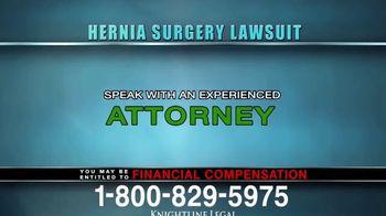 Knightline Legal TV Spot, 'Hernia Surgery Complication' - Thumbnail 8