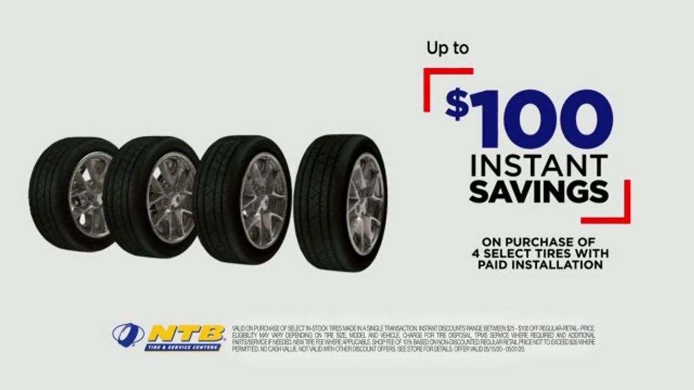 National Tire & Battery Big Memorial Day Sale TV Commercial, 'Gear Up'