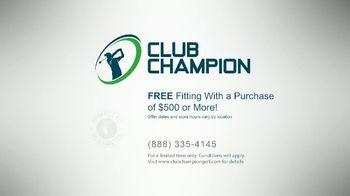 Club Champion TV Spot, 'Back on the Tee' - Thumbnail 6