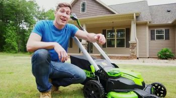 GreenWorks Pro Mower TV Spot, 'The Largest Residential Cutting Width'
