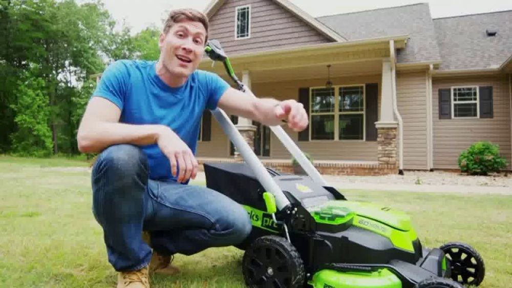 GreenWorks Pro Mower TV Commercial, 'The Largest Residential Cutting Width'