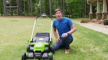 GreenWorks Pro Mower TV Spot, 'The Largest Residential Cutting Width' - Thumbnail 2